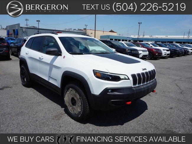 New 2019 Jeep Cherokee TRAILHAWK ELITE 4X4 Sport Utility for sale in Metairie, LA at Bergeron Chrysler Dodge Jeep Ram SRT Mopar