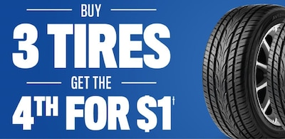 Limited Time Tire Offer