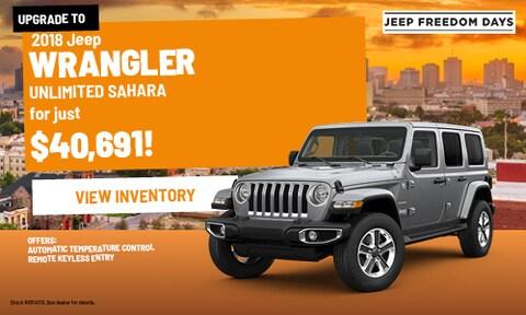 2018 Jeep Wrangler Unlimited Sahara | Bergeron CDJR