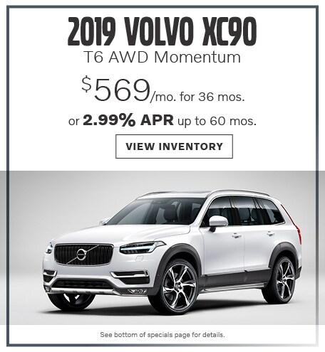 2019 XC90 T6 AWD Momentum