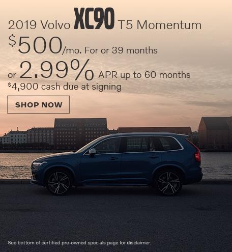 New 2019 Volvo XC90 T5