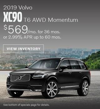 New 2019 Volvo XC90 T6 AWD Momentum July