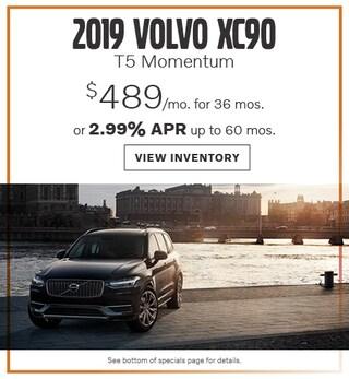 New 2019 Volvo XC90 T5 June