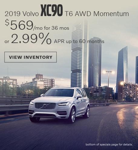 April 2019 XC90 T6 Momentum