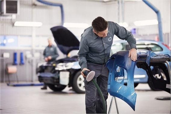 Body Repair Shop Near Me >> Volvo Certified Body Shop Kenner New Orleans Metarie