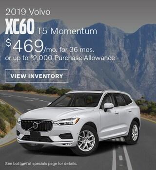 New 2019 Volvo XC60 T5 Momentum July