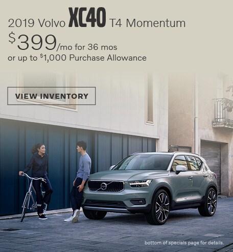 April 2019 XC40 T4 Momentum