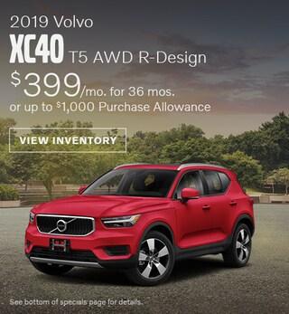 New 2019 Volvo XC40 T5 AWD R-Design July