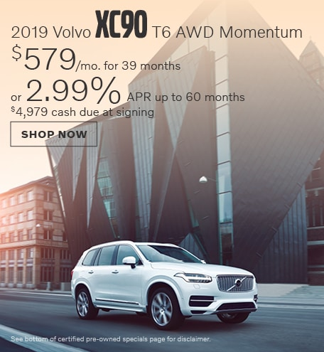 New 2019 Volvo XC90 T6