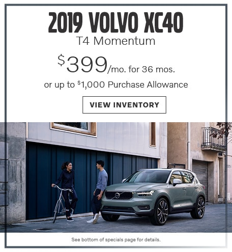 2019 XC40 T4 Momentum