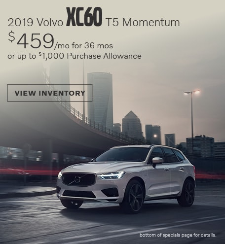April 2019 XC60 T5 Momentum
