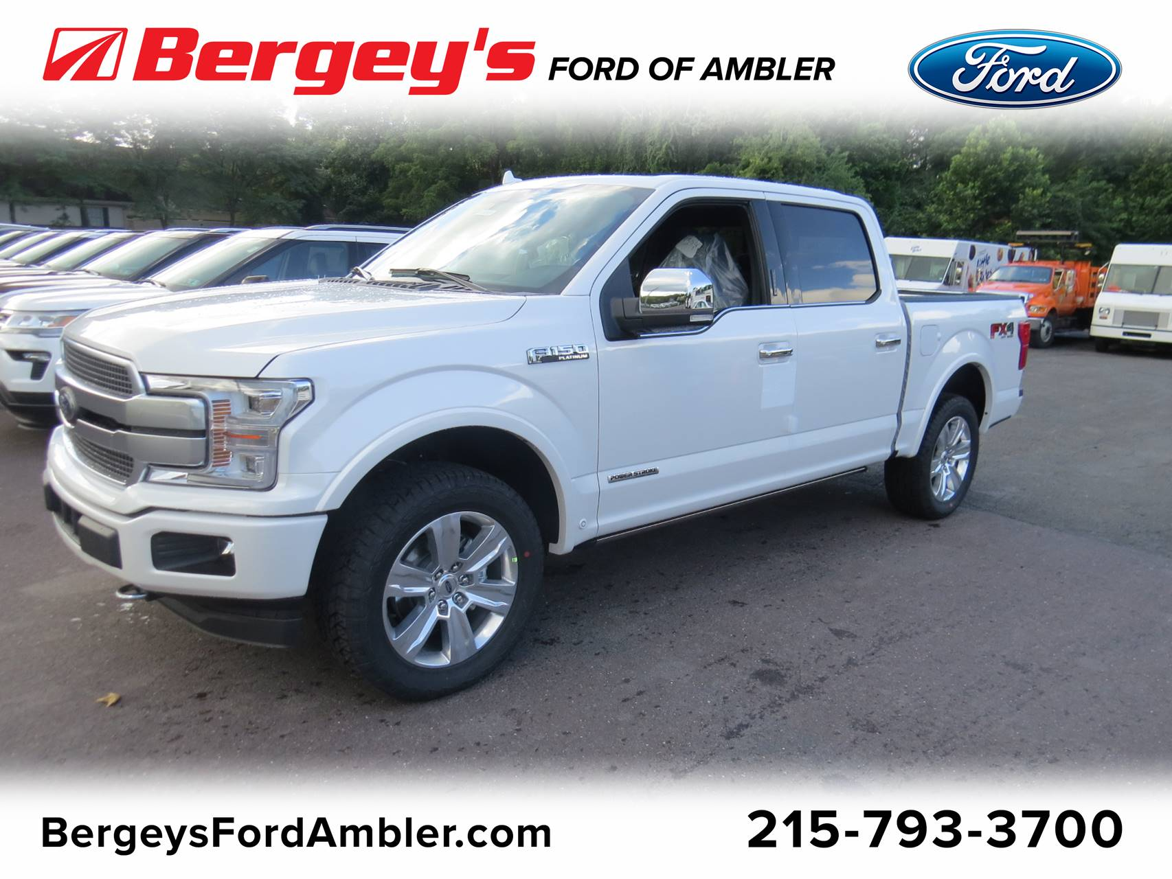 2018 Ford F-150 4WD Supercrew BOX Truck SuperCrew Cab