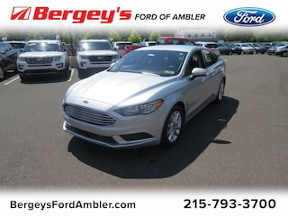 Used 2017 Ford Fusion SE FWD Sedan 3FA6P0H71HR107096 FP4194 for sale in Lansdale