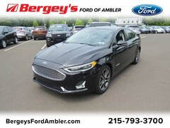 New 2019 Ford Fusion Hybrid Titanium FWD 3FA6P0RU1KR158724 9902A for sale in Lansdale