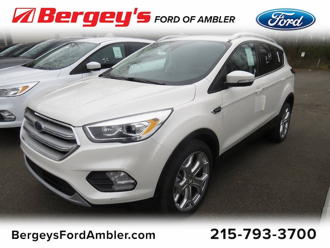 new 2019 Ford Escape Titanium 4WD Ambler