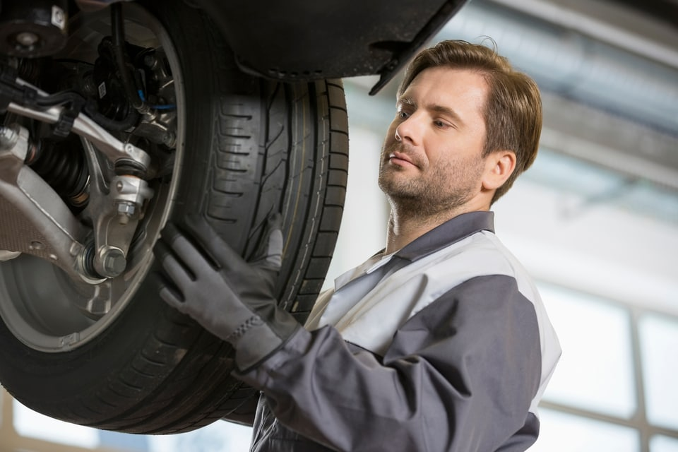 Tire Rotations & Wheel Alignments