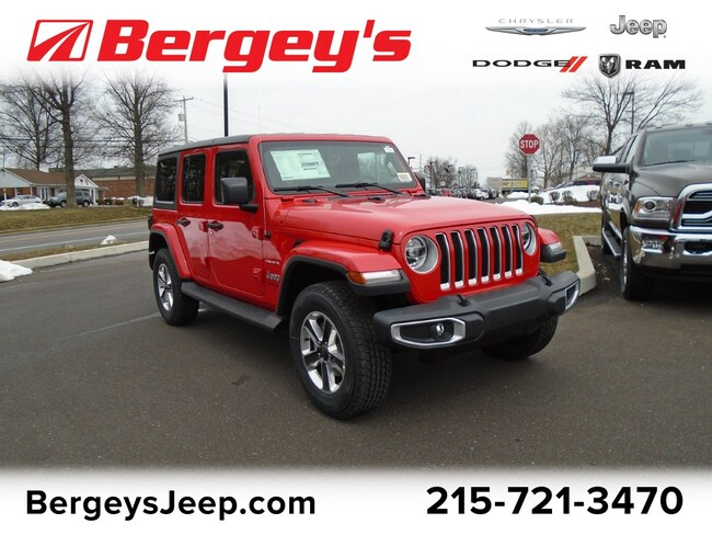 New 2018 Jeep Wrangler UNLIMITED SAHARA 4X4 Sport Utility in Souderton