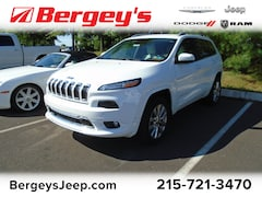 Certified Pre-Owned 2016 Jeep Cherokee 4WD  Overland w/Heated Seats, NAV and Technology G SUV for sale in Souderton