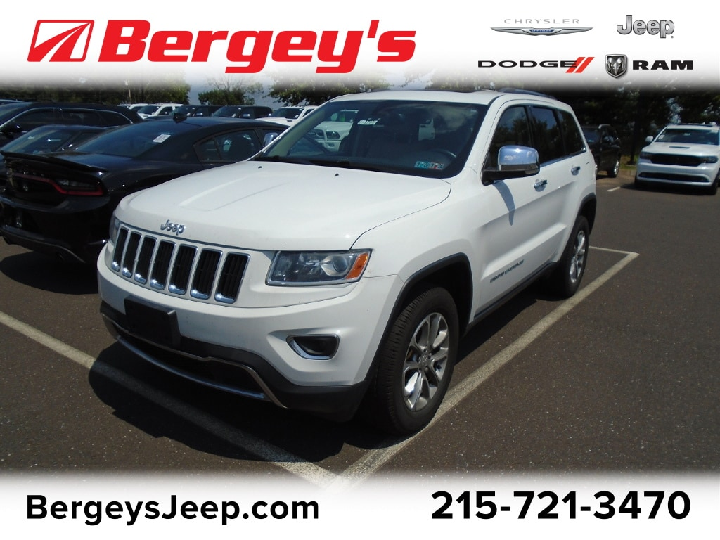 Used 2014 Jeep Grand Cherokee >> Certified Used 2014 Jeep Grand Cherokee 4wd Limited For Sale In Souderton Pa 1c4rjfbg3ec350441