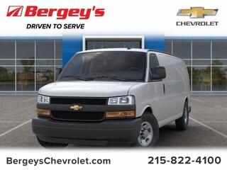 Commercial 2019 Chevrolet Express Cargo VAN 2500 155 EXT WB HD Van Extended Cargo Van 1GCWGBFP3K1251677 1695P in Souderton