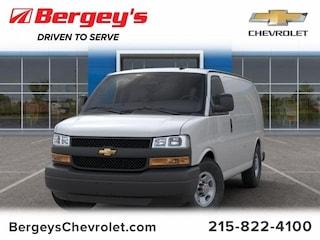 Commercial 2019 Chevrolet Express Cargo VAN 2500 Work HD Van Cargo Van 1GCWGAFGXK1253906 1741P in Souderton