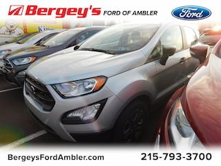 New 2019 Ford EcoSport S FWD for sale in Philadelphia