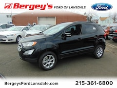 New 2019 Ford EcoSport SE 4WD SUV for sale in Lansdale