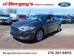 New 2019 Ford Fusion SE FWD Sedan 3FA6P0HD2KR192771 3828Y for sale in Lansdale