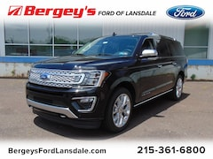 New 2019 Ford Expedition MAX Platinum 4X4 SUV for sale in Lansdale