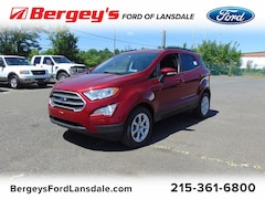 New 2019 Ford EcoSport SE FWD SUV for sale in Lansdale