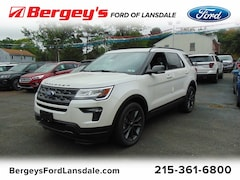 New 2018 Ford Explorer XLT 4WD SUV for sale in Lansdale