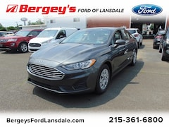 new  2019 Ford Fusion S FWD Sedan 3FA6P0G7XKR228640 3843Y for sale in Philadelphia