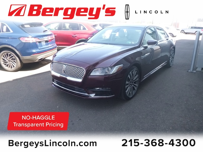 New 2019 Lincoln Continental Select Car in Philadelphia