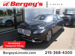 New 2019 Lincoln Continental Reserve Car for sale in Philadelphia