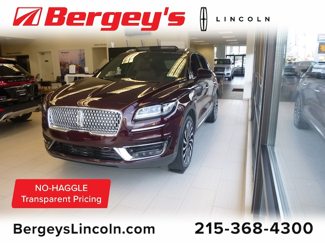 New 2019 Lincoln Nautilus Black Label Crossover in Philadelphia