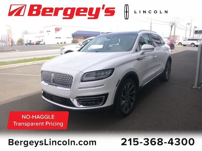New 2019 Lincoln Nautilus Reserve Crossover in Philadelphia