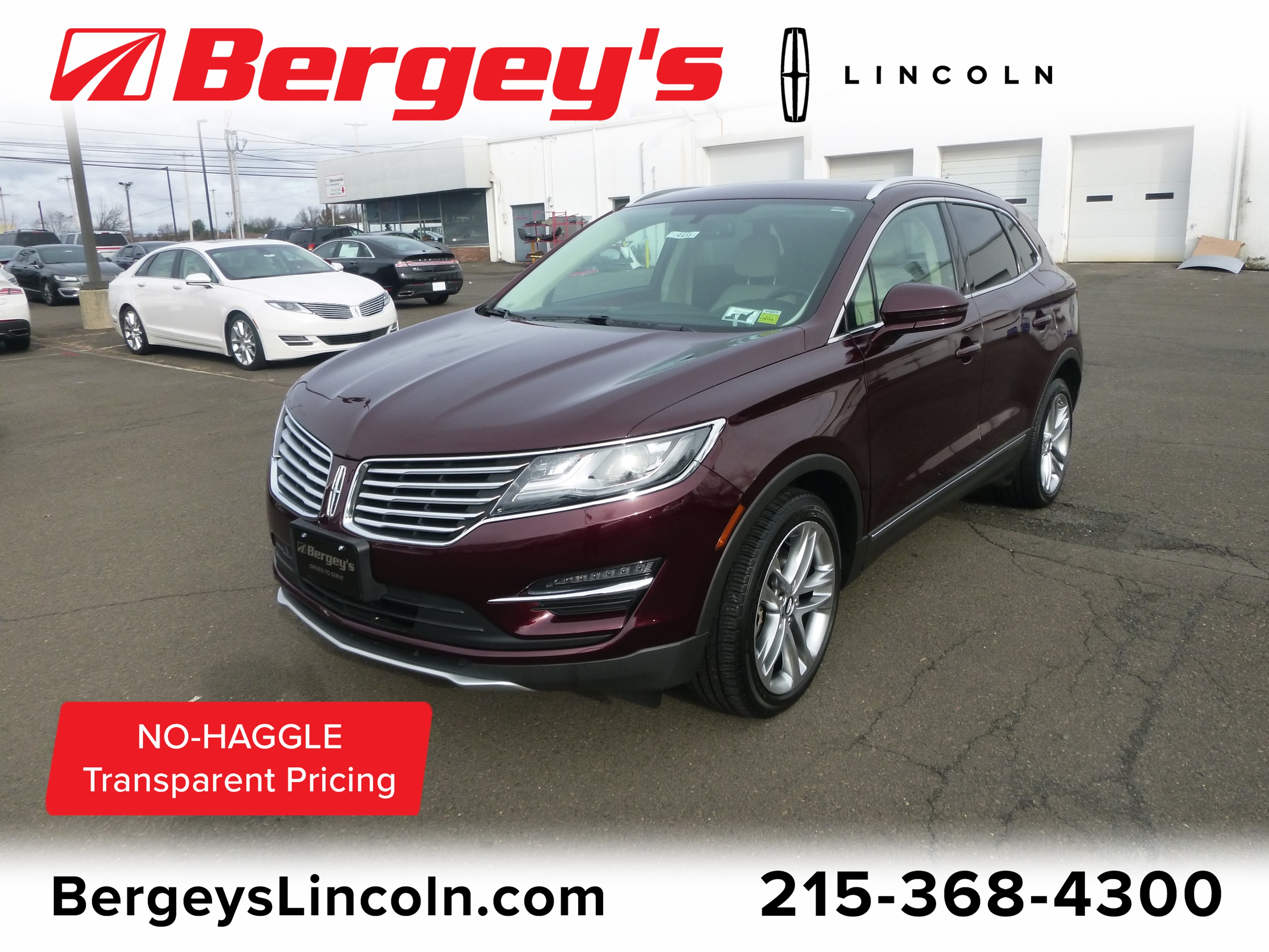 2016 Lincoln MKC 2.0L AWD Reserve w/ Panoramic Roof & Nav SUV