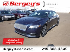 2017 Lincoln Continental 2.7T AWD Reserve w/ Twin Panel Moonroof & Nav Sedan for sale in Philadelphia