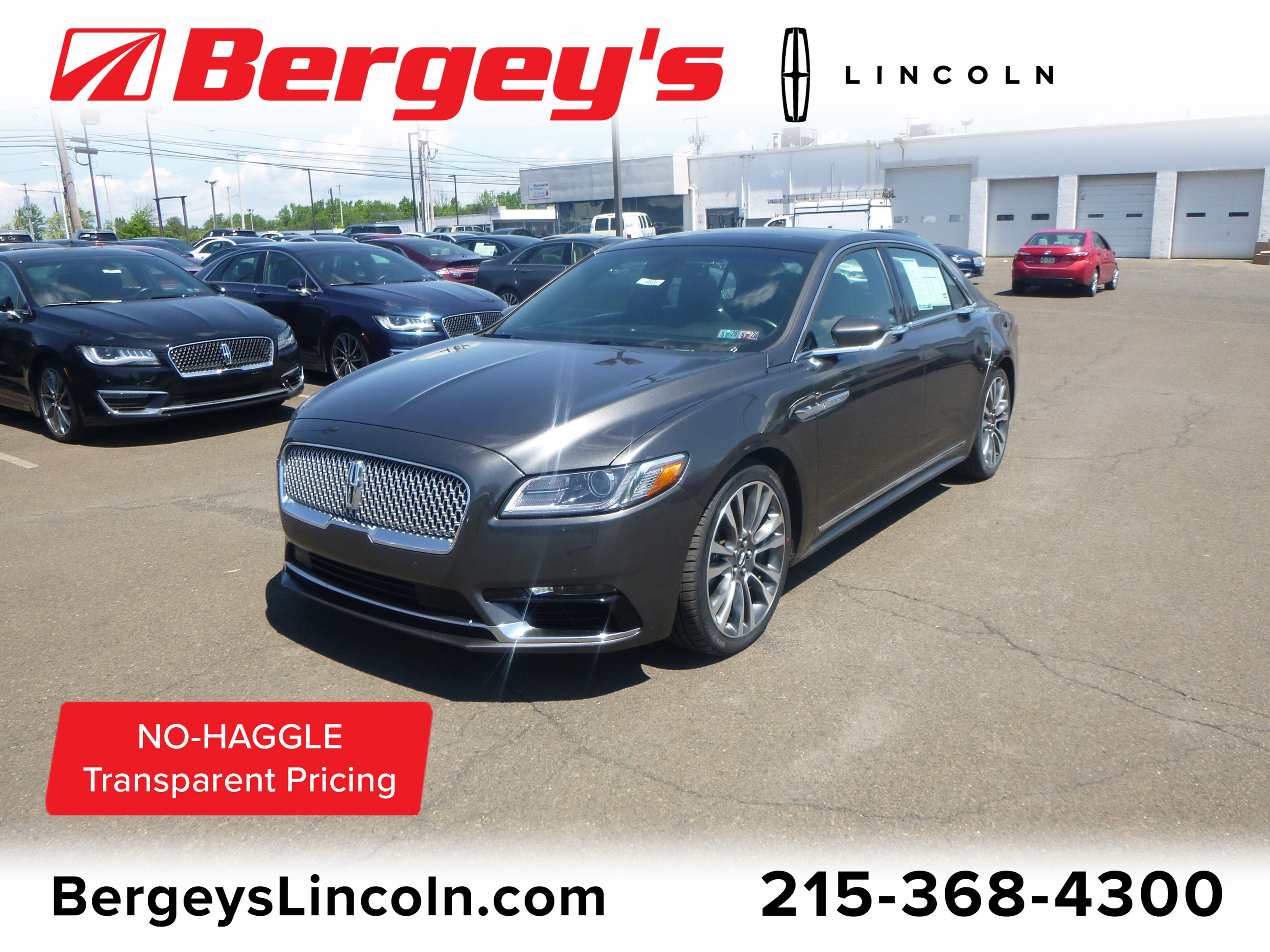 2017 Lincoln Continental 2.7T AWD Reserve w/ Twin Panel Moonroof & Nav Sedan