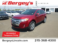used cars 2013 Ford Edge 3.5L AWD SEL w/ Panoramic Vista Roof & Nav SUV for sale in Philadelphia