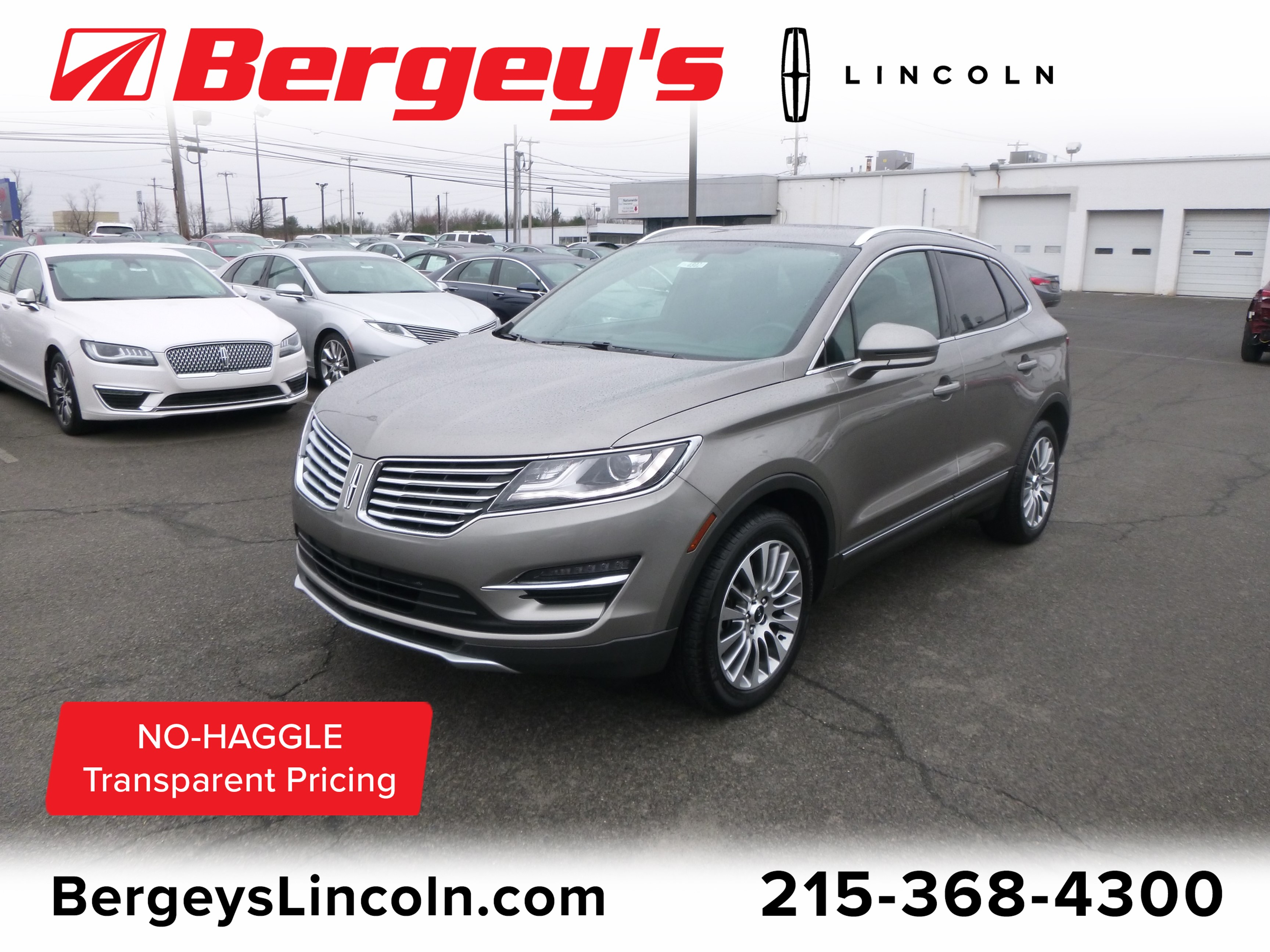 2017 Lincoln MKC 2.3T AWD Reserve w/ Panoramic Vista Roof & Nav SUV