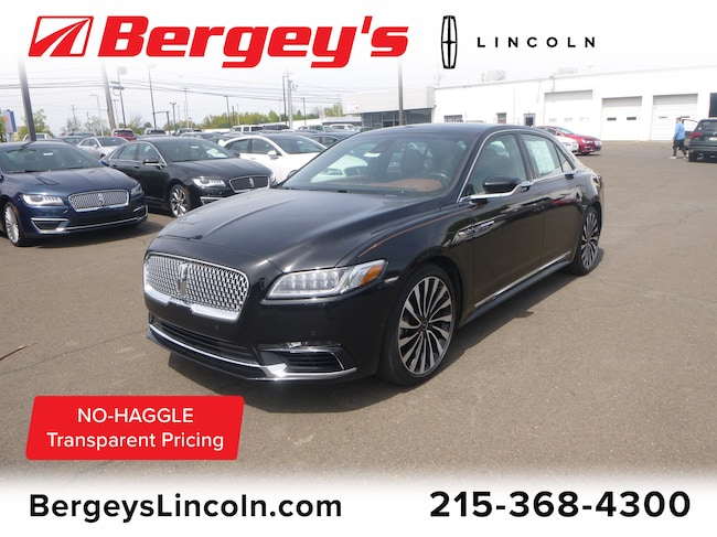 Used 2017 Lincoln Black Label Continental 3.0T AWD Black Label w/ Rear Seat/Tech/Climate Pkg Sedan Philadelphia
