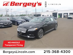 Used 2017 Lincoln Black Label Continental 3.0T AWD Black Label w/ Technology Pkg & 30-Way Se Sedan 1LN6L9BC9H5616738 XX4861 for sale in Philadelphia