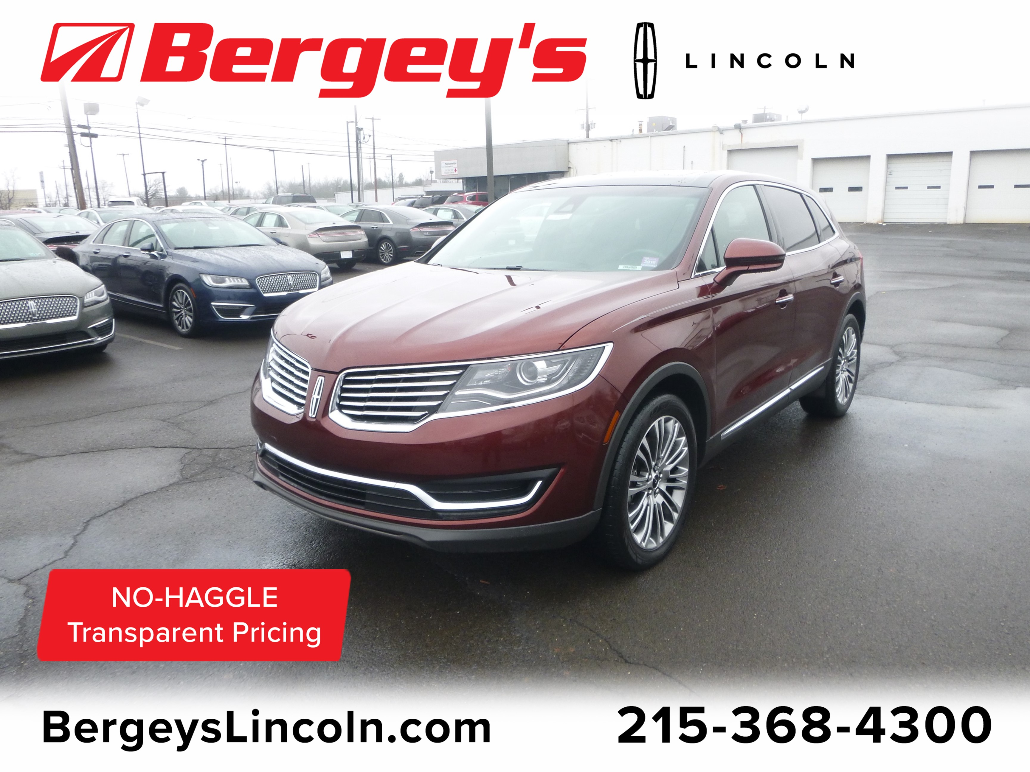 2016 Lincoln MKX 3.7L AWD Reserve w/ Panoramic Vista Roof & Nav SUV