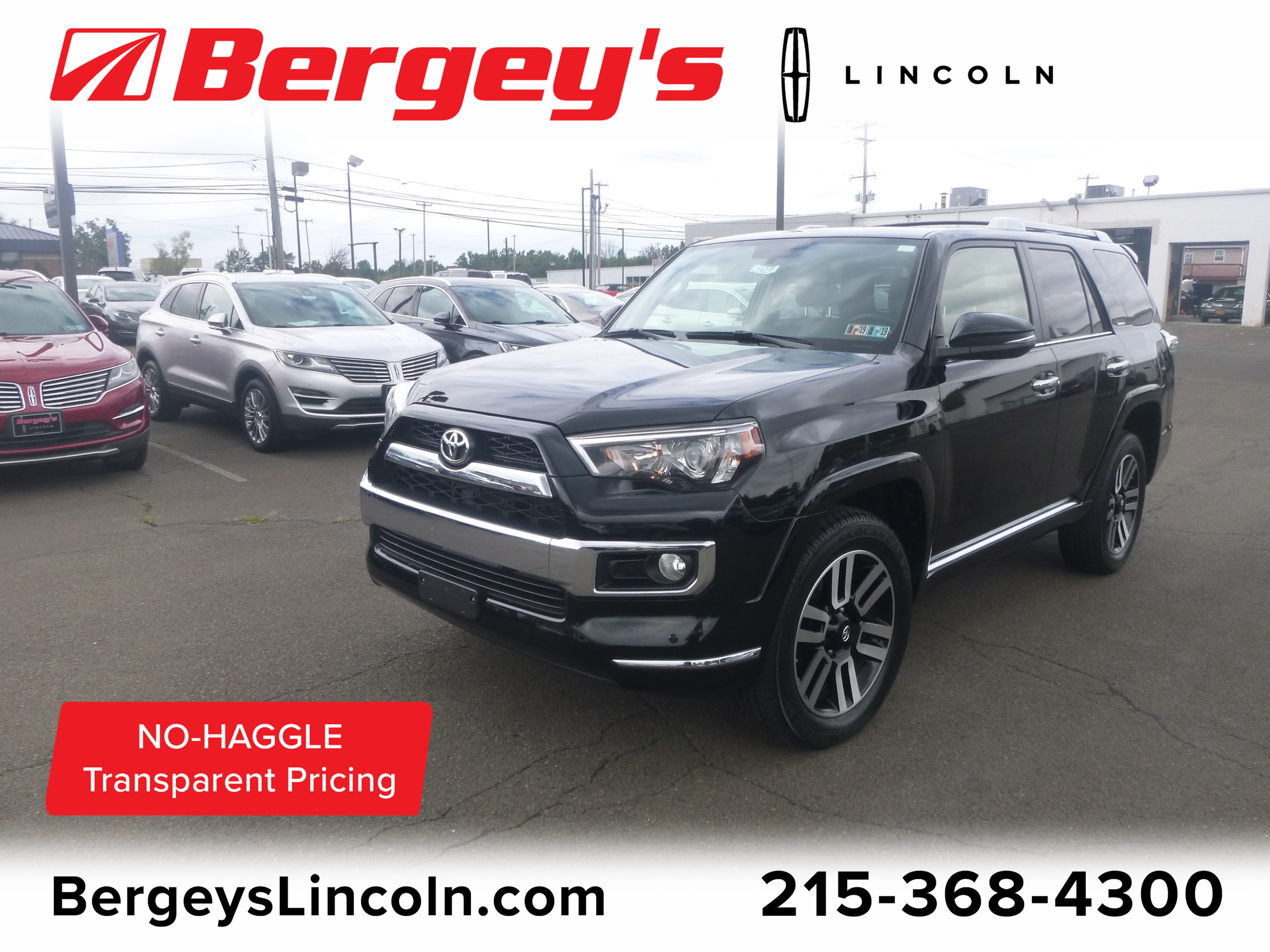 2015 Toyota 4Runner 4.0L 4WD Limited Premium w/ Navigation & Moonroof SUV