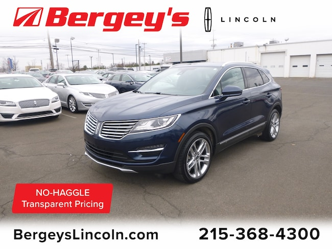 Used 2016 Lincoln MKC 2.0T AWD Reserve w/ Panoramic Vista Roof & Nav SUV Philadelphia