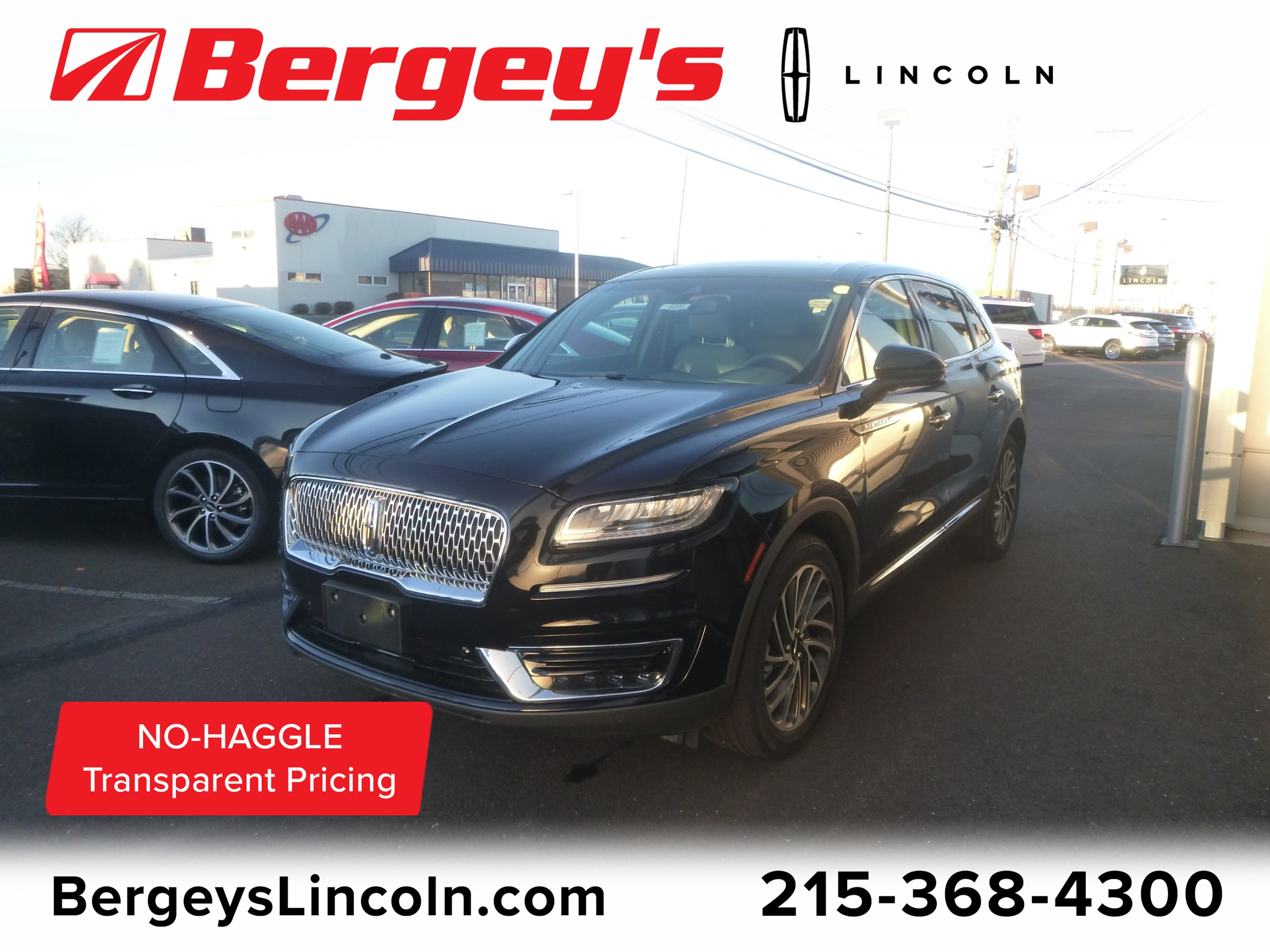 2019 Lincoln Nautilus 2.0T AWD Reserve w/ Technology & Driver Assistance Station Wagon