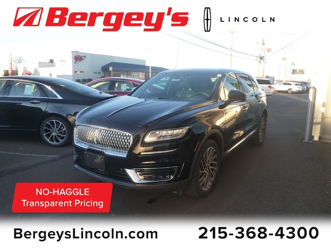 New 2019 Lincoln Nautilus For Sale Souderton Pa