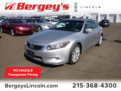 used cars 2009 Honda Accord 3.5L FWD EX-L w/ Moonroof Coupe for sale in Philadelphia