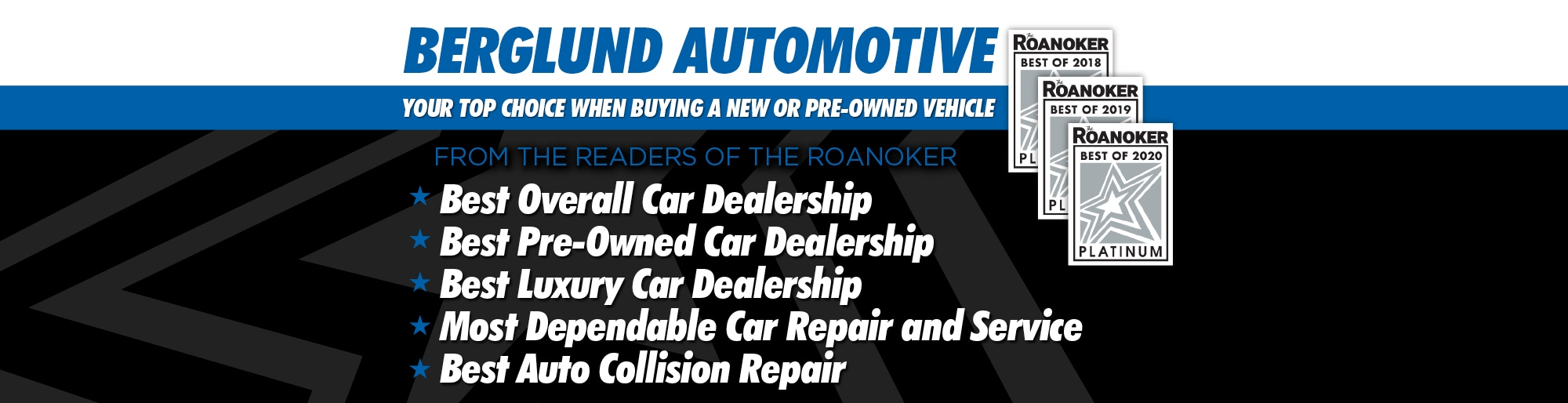 Used Cars Lynchburg Va >> Berglund Auto Group | New & Used Car Dealers in Roanoke ...